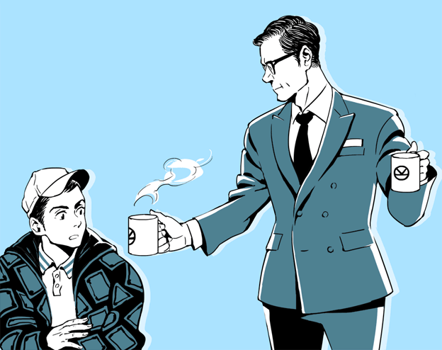 Harry & Eggsy